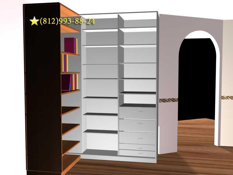 Раздвижные библиотеки, медиатека, книжный шкаф-купе, шкафы с.