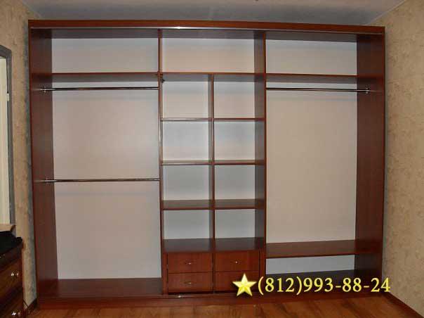 Фото обустройства кладовки, гардеробной комнаты, шкафов.