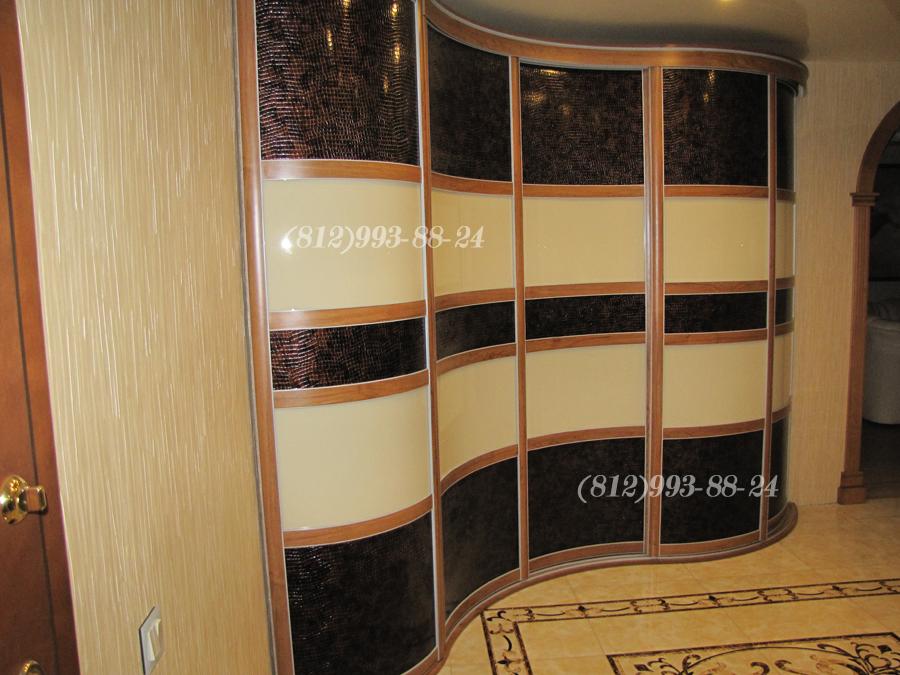 Радиусные шкафы в петербурге. виды радиусных шкафов купе на .